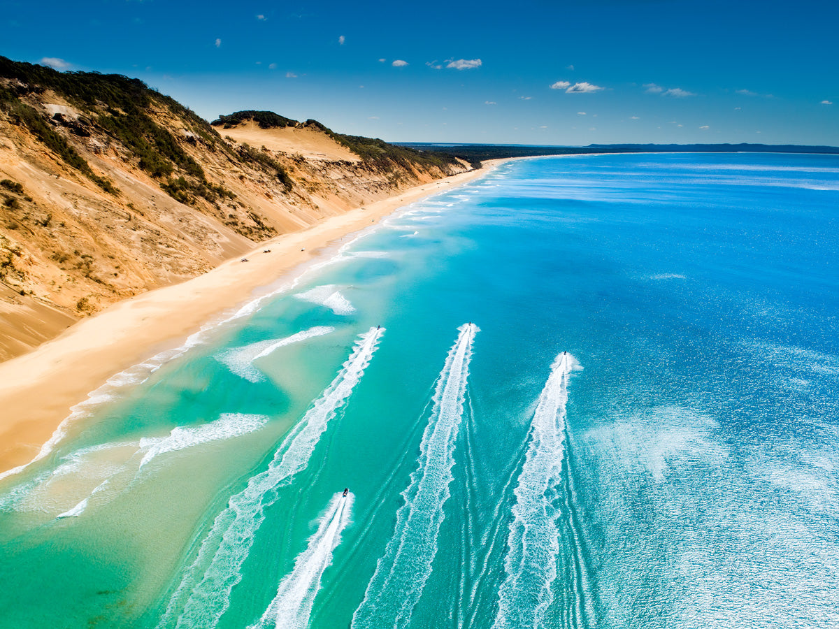 """Weekend Goals"" Rainbow Beach"