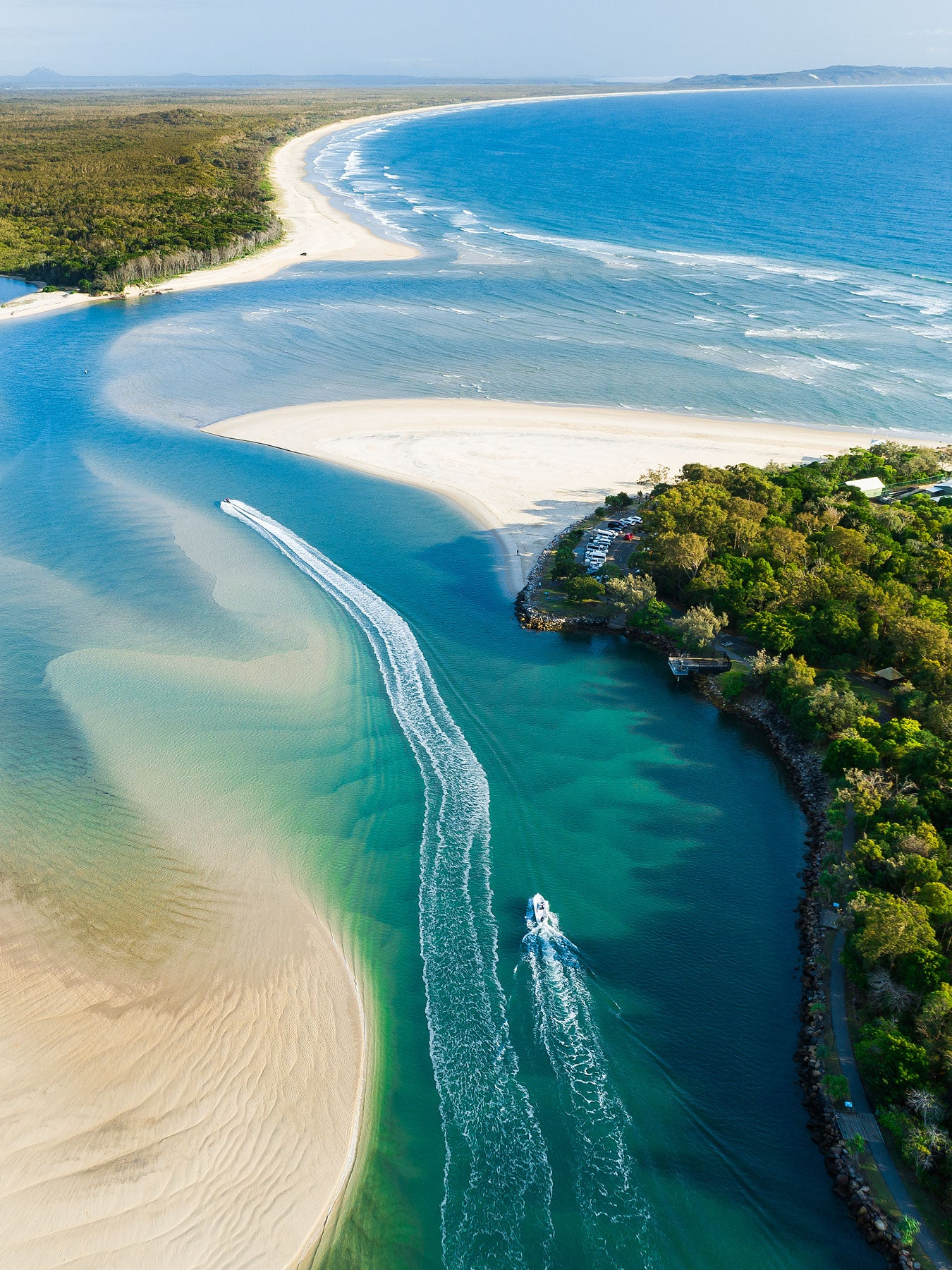 """Slice of Life""-  Noosa River Mouth"
