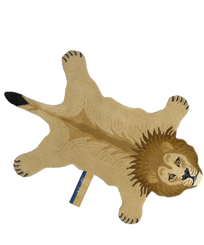 Moody Lion Rug - Large