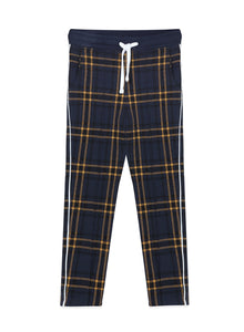 Blue Plaid Jax Pant