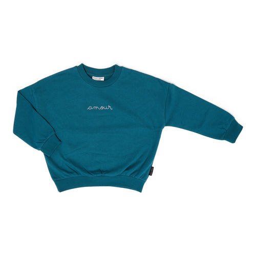 Amour Sweater - Petrol Green