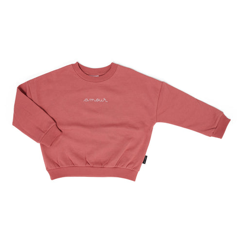 Amour Sweater - Rosewood