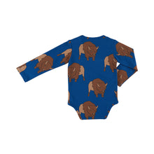 Load image into Gallery viewer, Blue Bison Bodysuit