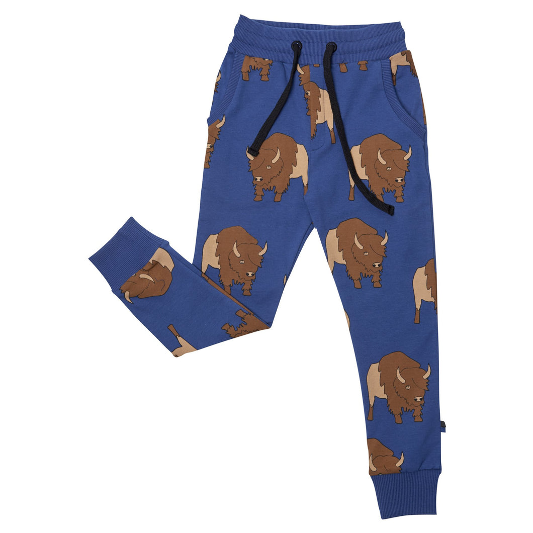 Blue Bison Sweatpants
