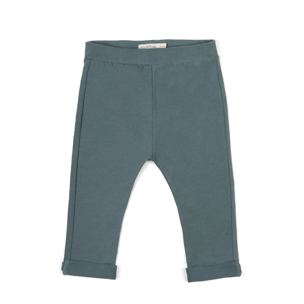 Basic Jersey Pant - Balsam Blue