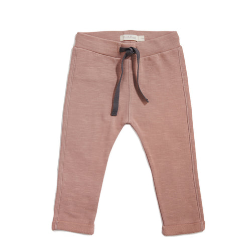 Basic Sweat Pants - Dusty Blush