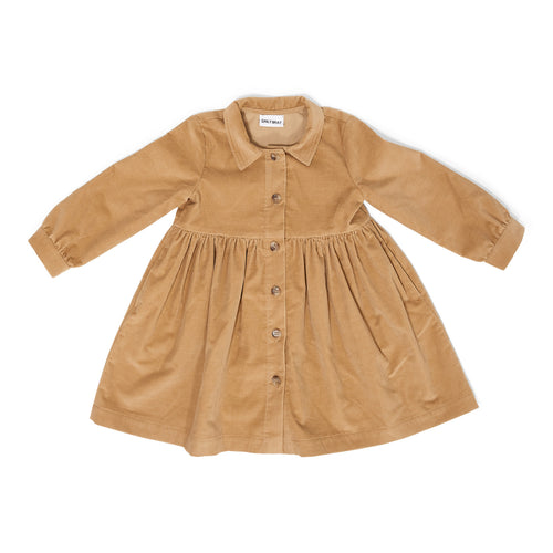 Brooke Camel Corduroy Dress