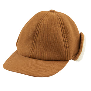 Winter Cap - Brown/Beige