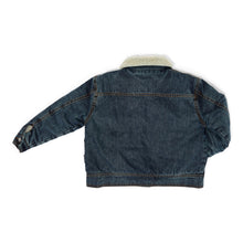 Load image into Gallery viewer, Chuck Denim Vintage Aged Teddy Jacket