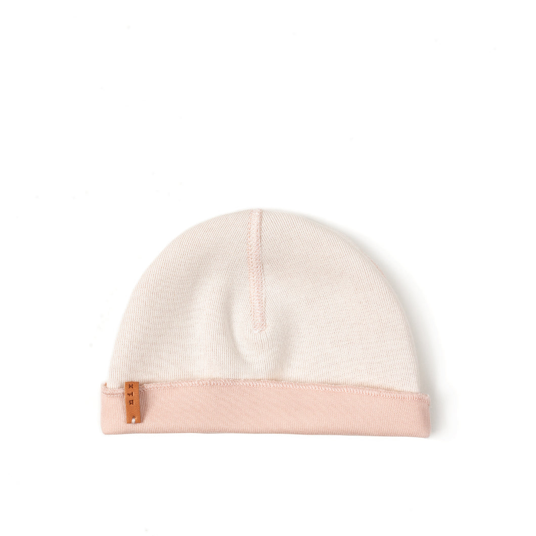 Double Hat (reversible) - Old Pink