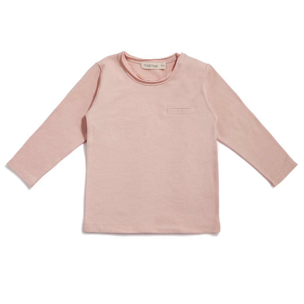 Pocket Tee - Blush