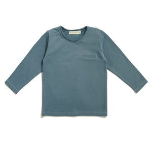 Pocket Tee - Balsam Blue