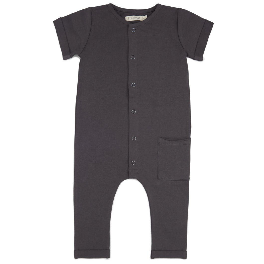 Pocket Jumpsuit - Graphite