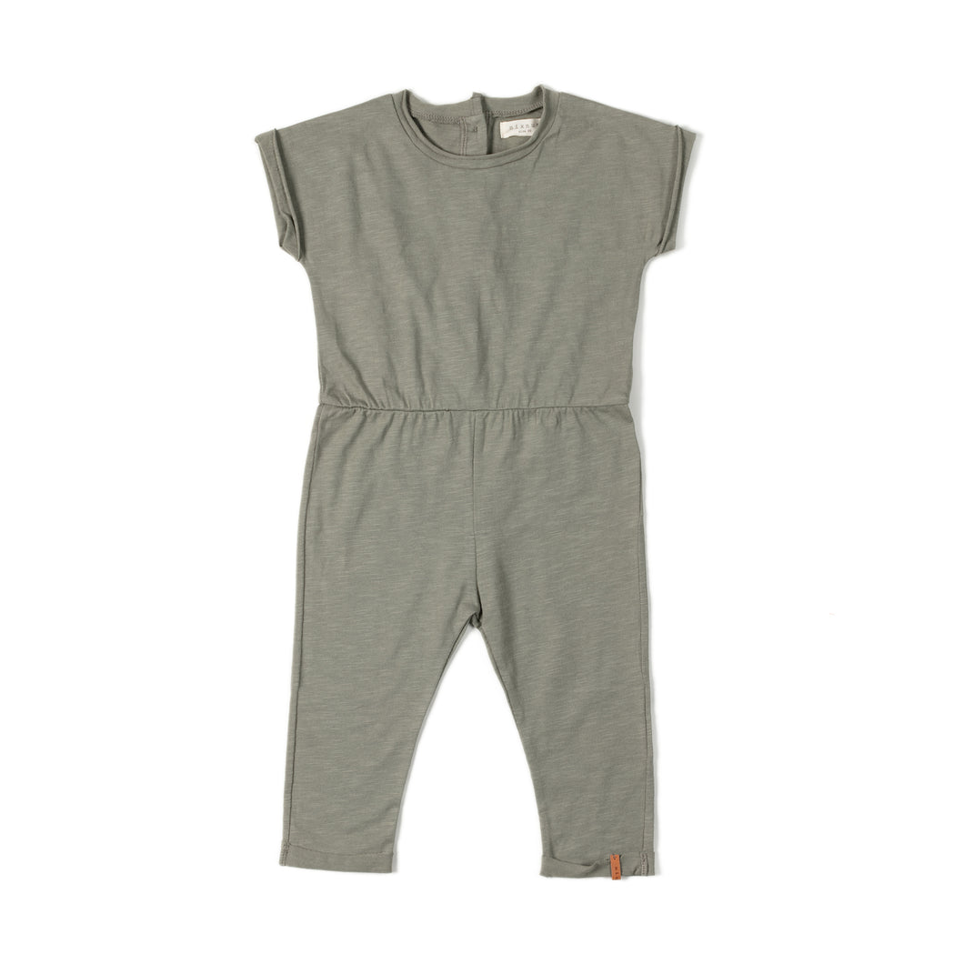 Fit Jumpsuit - Wild Green