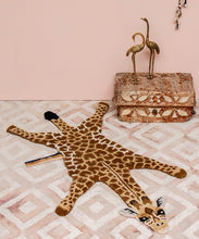 Load image into Gallery viewer, Gimpy Giraffe Rug - Small