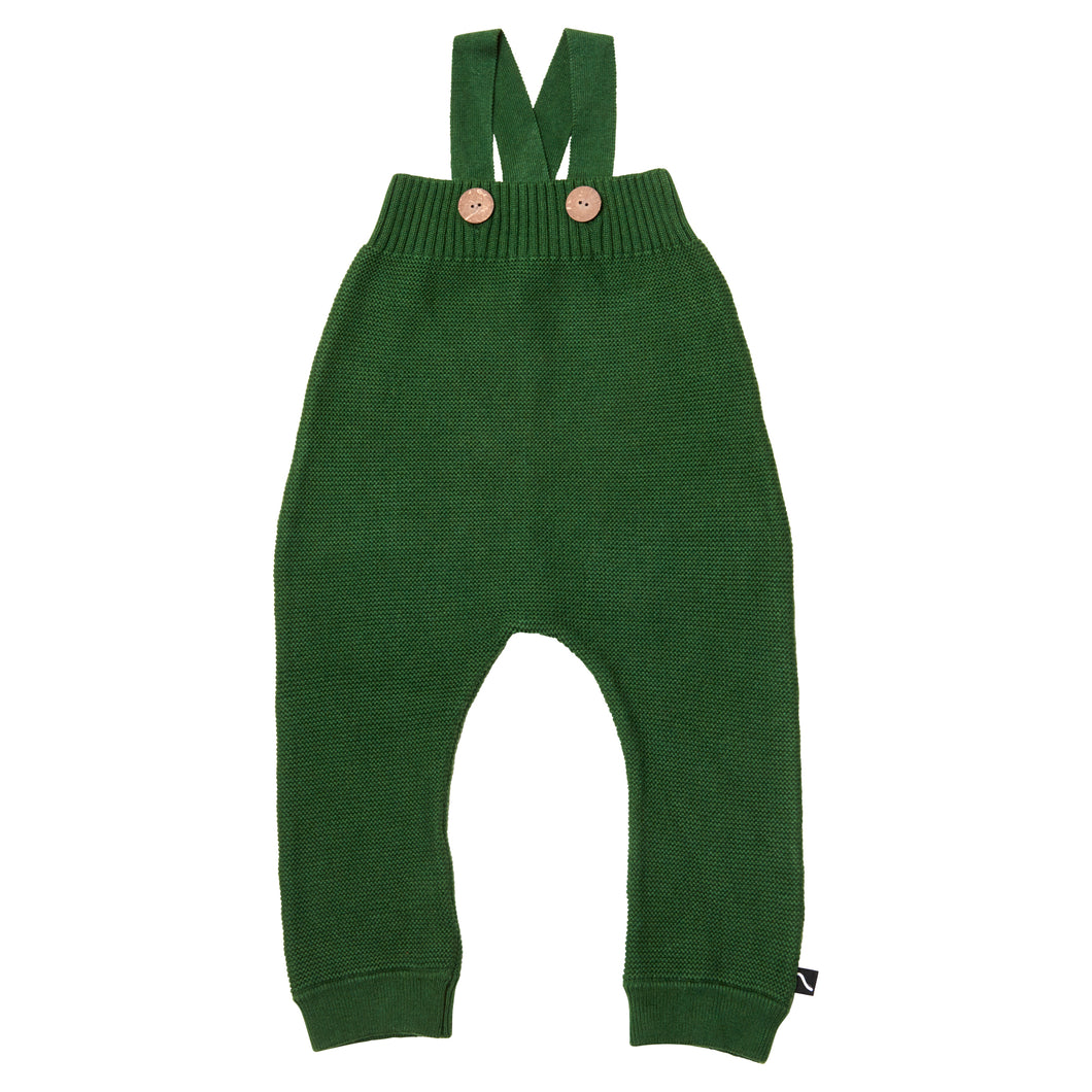 Green Knit Overall