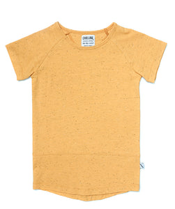 Basics Organic Tee - Yellow