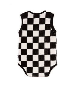 Checkers Romper