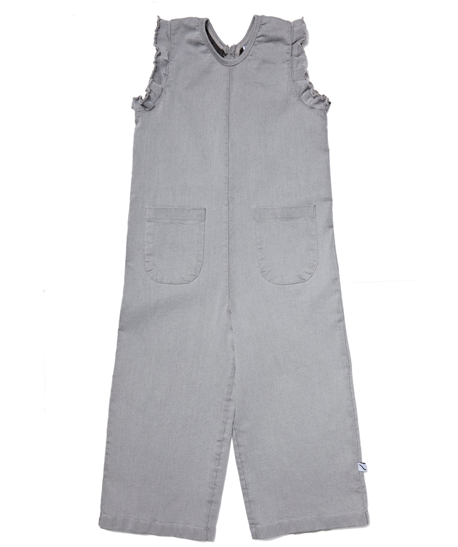 Grey Denim Overall