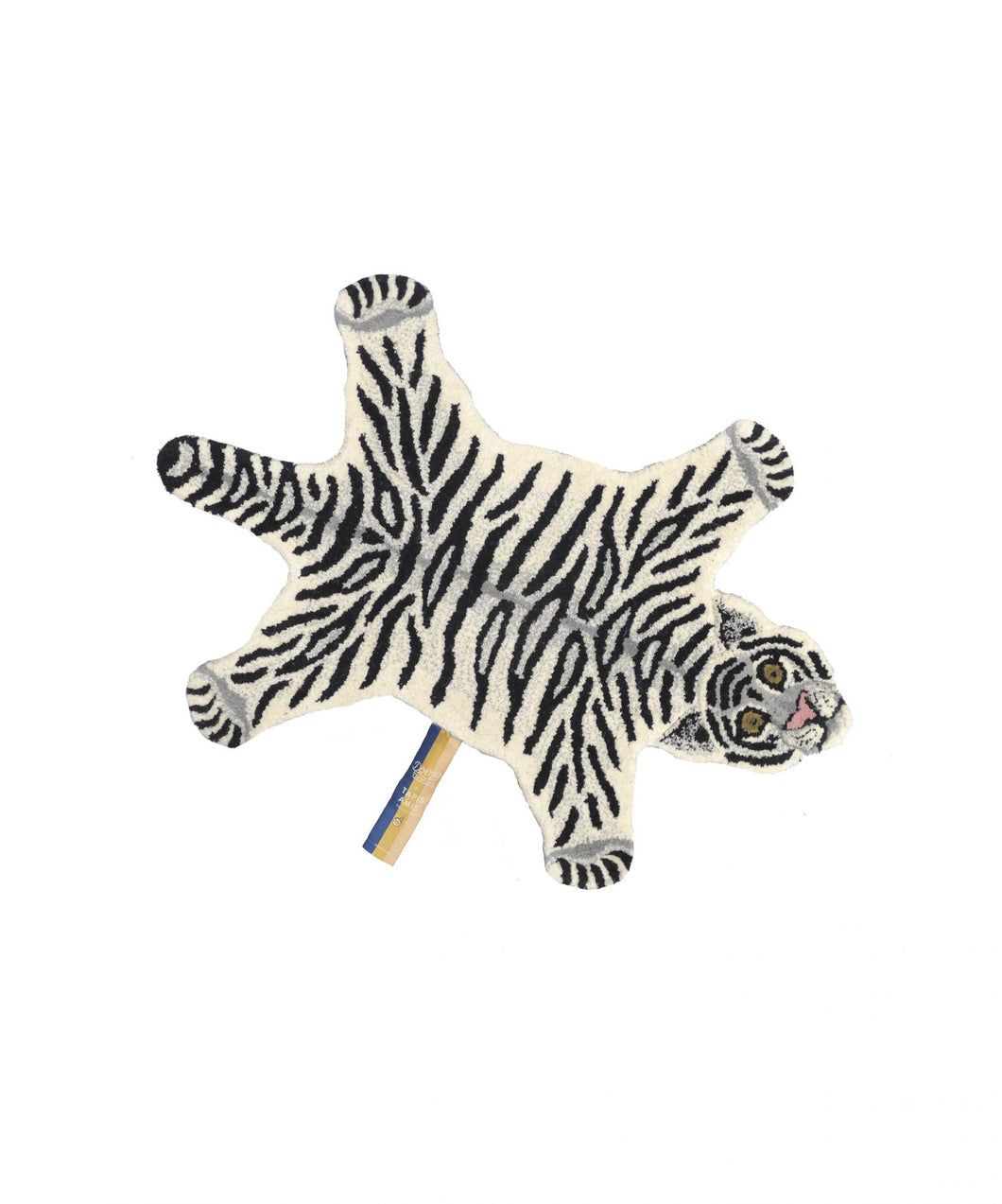 Snowy Tiger Rug - Small