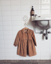 Load image into Gallery viewer, Brooke Camel Corduroy Dress