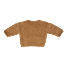 Load image into Gallery viewer, Teddy Oversized Sweater - Camel