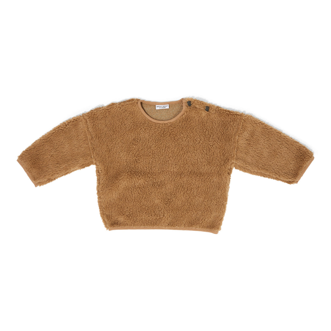 Teddy Oversized Sweater - Camel
