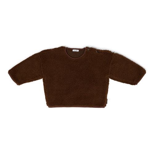 Teddy Oversized Sweater - Walnut