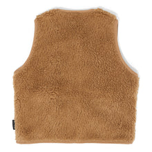 Load image into Gallery viewer, Camel Teddy Vest