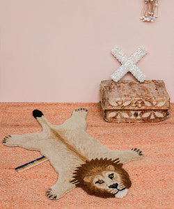 Moody Lion Rug - Small