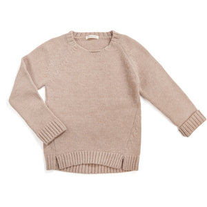 Woolmix Knit Sweater - Oatmeal