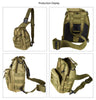 Outdoor Sports Bag Shoulder Military Camping Hiking Bag Tactical Backpack