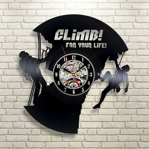 High Quality Vinyl Record Wall Climb for your life/clock