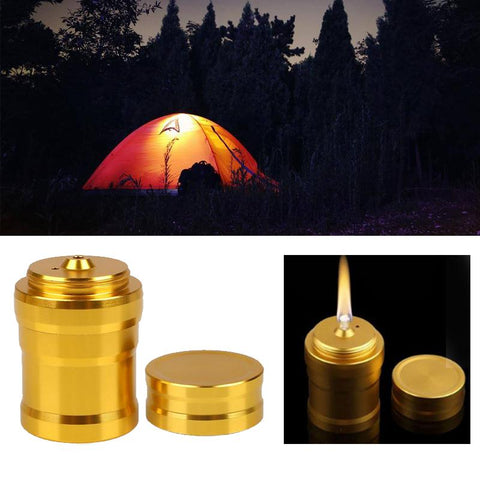Portable Metal Mini Alcohol Lamp