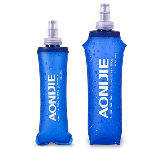 Fold-able Soft Flask Water Bag