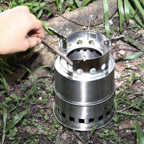 Stainless Steel Burning Stove