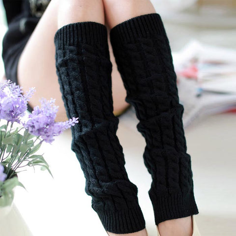 So Soft Women Winter Leg Warmers Knitted