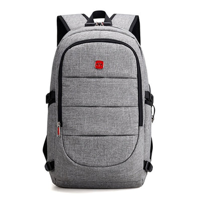 New 2018 Oxford Backpack USB Cable and Charging Port Male