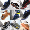 Men Work Safety Shoes Steel Toe Puncture Proof