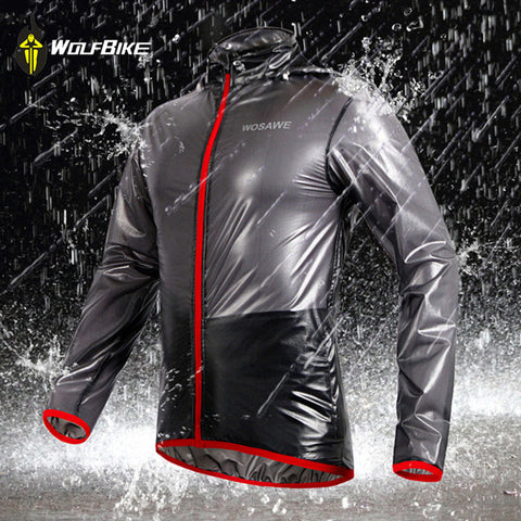 Sporty Waterproof Windproof Cycling, Hiking, Running Jacket
