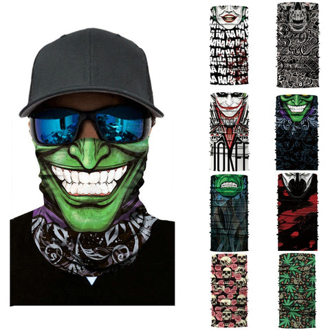 Crazy Cycling Ski Mask Head Scarf Neck Warmer