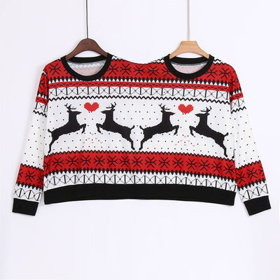 Ugly Sweaters BFF Christmas Sweater