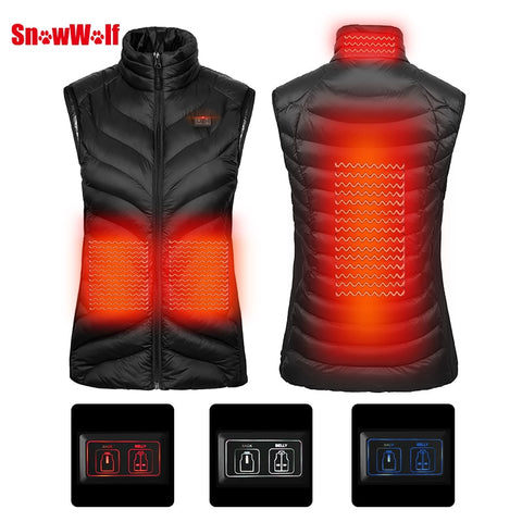 2018 Upgraded Women USB Heating Vest 2