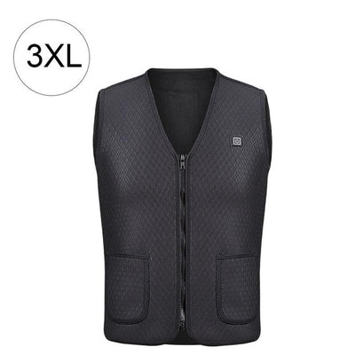 Outdoor Warm Electric Heated Vest 2
