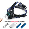 amazing Infrared sensor headlight LED
