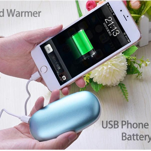 2 in 1 Power Bank and Hand Warmer