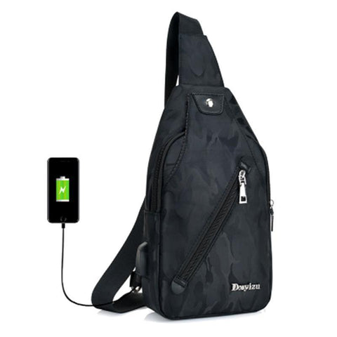 Anti Theft USB Rechargeable Backpack - travelgear4u.com