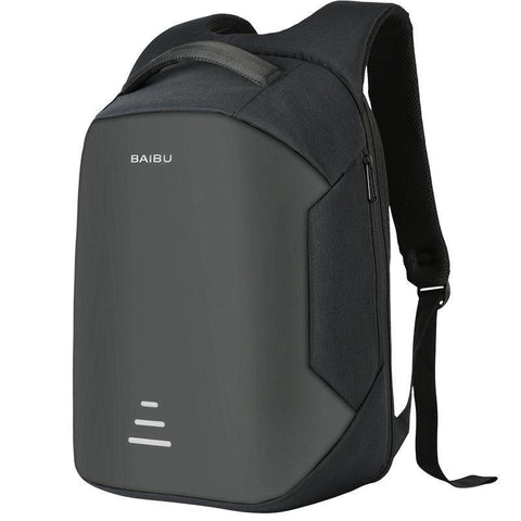 Anti Theft Backpack USB Charging  Waterproof Travel Backpack - travelgear4u.com