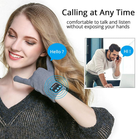 Bluetooth Earphones Gloves