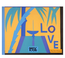Load image into Gallery viewer, YSL 1986 Love Print
